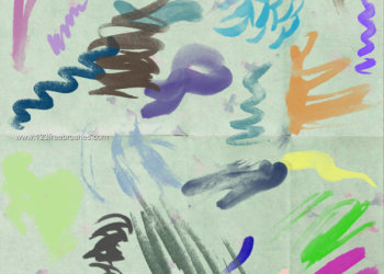 Paint Brush Strokes 1