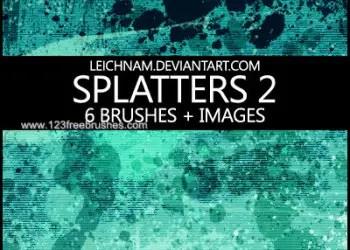 Ink Splatter Paint 105