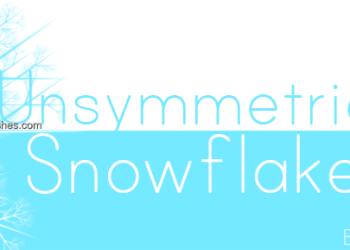 Symmetrical Snowflakes