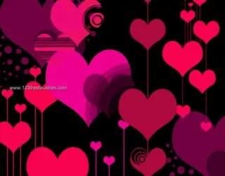 Vector Love Hearts