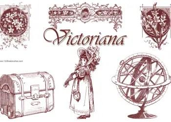 Victorian Ornaments and Child