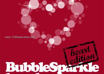Bubble Sparkle Heart