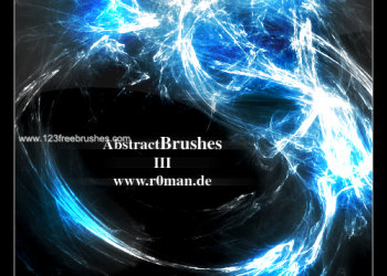 Download Abstract Glow Brushes Photoshop
