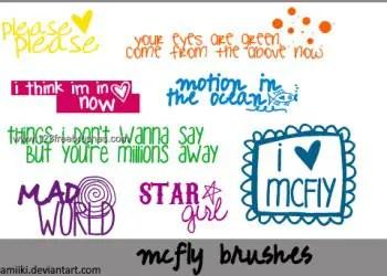 Mcfly Lyric