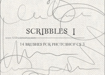 Ink Scribbles Set 17
