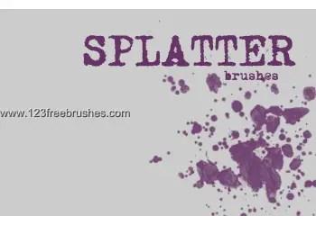 Ink Splatter Paint 107
