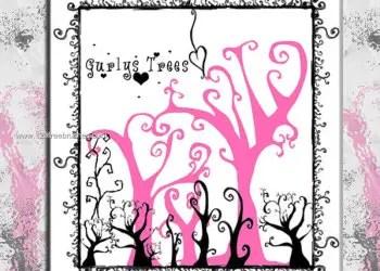 Doodle Tree Brush for Photoshop