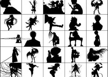 Anime & Manga – People Brushes Free