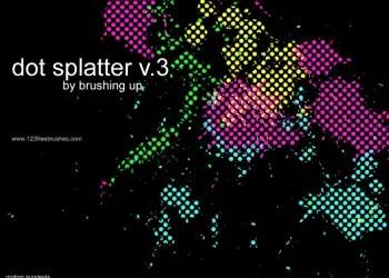 Dot Splatter 3