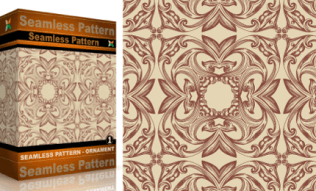Vol.1 : Vector Seamles Pattern Ornaments