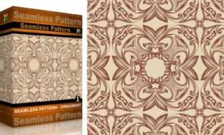 Vol.1 : Vector Seamles Pattern Ornaments