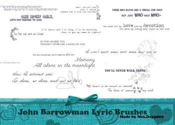 John Barrowman Lyric