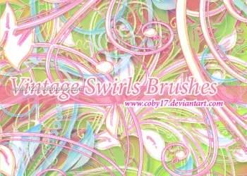 Vintage Swirls