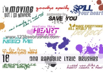 One Republic Lyric