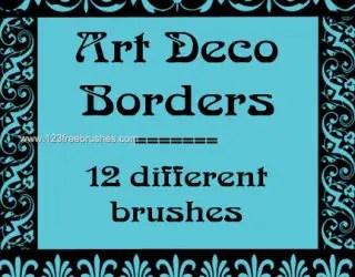 Art Deco Borders