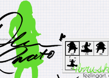 Silhouettes Girls