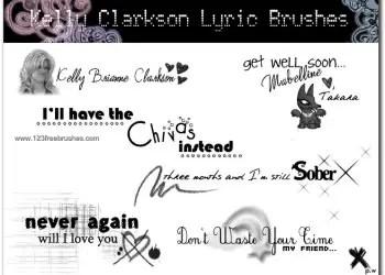 Kelly Clarkson Lyric