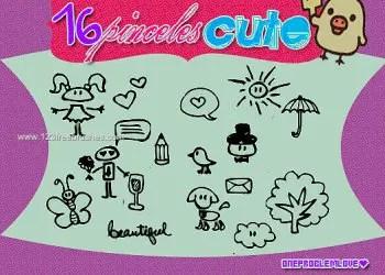 Cute Kids Doodle