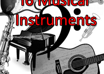 Musical Instruments Guitars – Saxophone – Piano