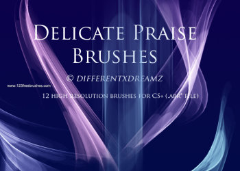 New Abstract Brushes For Photoshop