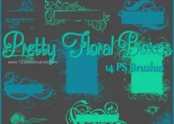 Floral Boxes