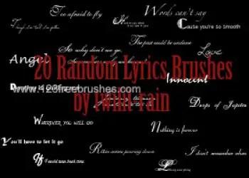 Random Lyrics