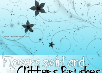 Flowers and Glitters