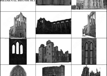 Medieval Castle Photoshop Brushes Free