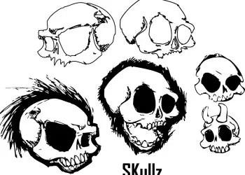 Sketch Skull