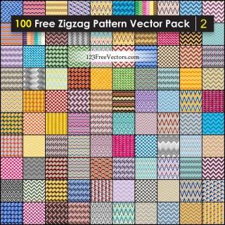 Free Chevron Zigzag Pattern Background Vector Pack
