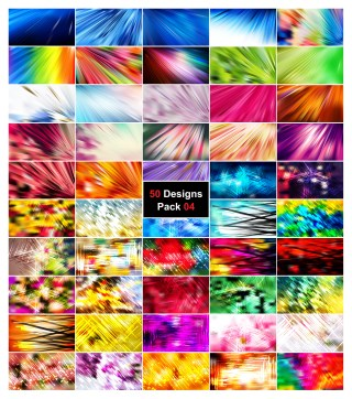 50 Abstract Lines Background Vector Pack 04