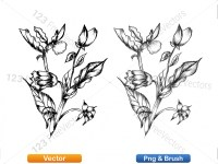5003050-hand-drawn-sketch-flowers-vector-and-photoshop-brush-pack-03_p009