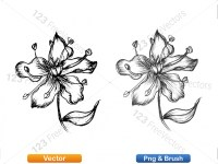5003051-hand-drawn-sketch-flowers-vector-and-photoshop-brush-pack-04_p014