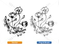 5003053-hand-drawn-sketch-flowers-vector-and-photoshop-brush-pack-06_p004