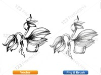 5003054-hand-drawn-sketch-flowers-vector-and-photoshop-brush-pack-07_p005