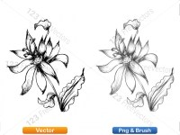 5003054-hand-drawn-sketch-flowers-vector-and-photoshop-brush-pack-07_p009