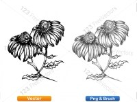 5003054-hand-drawn-sketch-flowers-vector-and-photoshop-brush-pack-07_p014