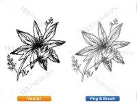 5003056-hand-drawn-sketch-flowers-vector-and-photoshop-brush-pack-09_p007