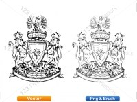 5012010-hand-drawn-sketch-heraldic-coat-of-arms-vector-and-brush-pack-01_p001