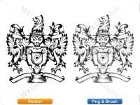 5012010-hand-drawn-sketch-heraldic-coat-of-arms-vector-and-brush-pack-01_p002