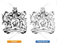 5012010-hand-drawn-sketch-heraldic-coat-of-arms-vector-and-brush-pack-01_p004