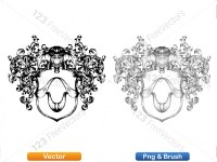 5012010-hand-drawn-sketch-heraldic-coat-of-arms-vector-and-brush-pack-01_p006