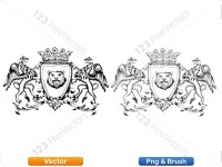 5012010-hand-drawn-sketch-heraldic-coat-of-arms-vector-and-brush-pack-01_p007