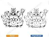 5012010-hand-drawn-sketch-heraldic-coat-of-arms-vector-and-brush-pack-01_p014