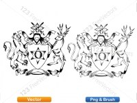 5012010-hand-drawn-sketch-heraldic-coat-of-arms-vector-and-brush-pack-01_p014