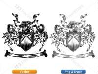 5012010-hand-drawn-sketch-heraldic-coat-of-arms-vector-and-brush-pack-01_p015