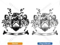 5012010-hand-drawn-sketch-heraldic-coat-of-arms-vector-and-brush-pack-01_p015