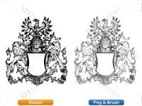 5012010-hand-drawn-sketch-heraldic-coat-of-arms-vector-and-brush-pack-01_p018