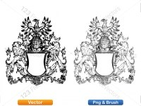 5012010-hand-drawn-sketch-heraldic-coat-of-arms-vector-and-brush-pack-01_p018