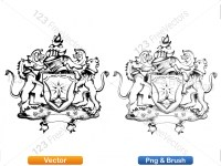 5012010-hand-drawn-sketch-heraldic-coat-of-arms-vector-and-brush-pack-01_p019